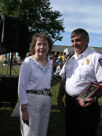 Columbia Township's 2007 Citizen of the Year - Ray Anthony